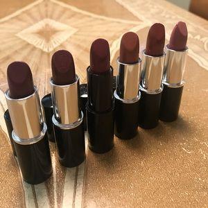 Lot of 6 Lancôme Color Design Lipsticks